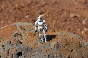 Outback Stormtrooper on Sandstone, circa 2014
