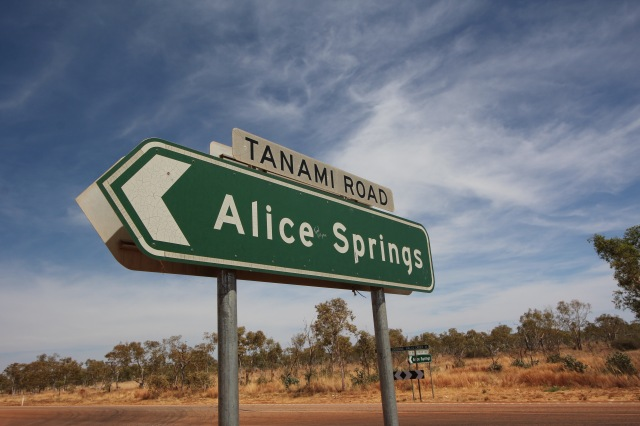 Alice Springs or Bust