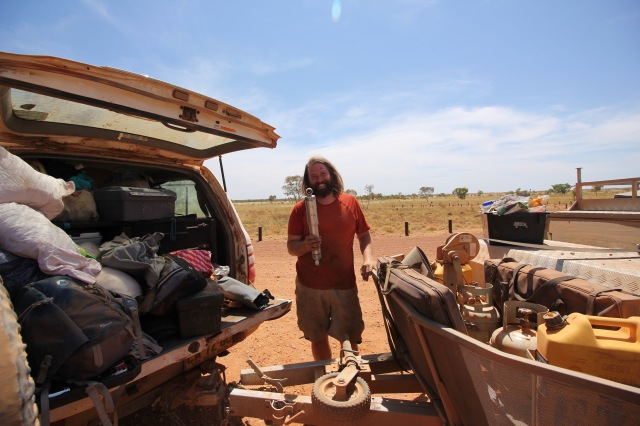 Well, we had to pull out every inch of the boot, but we did have an extra shock - thanks again Vic for your sage advice!